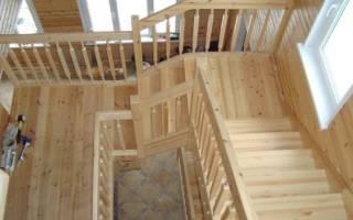 Как правильно покрасить лестницу из сосны?