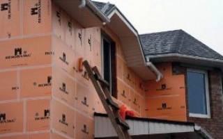 Как правильно утеплить дом пеноплексом?
