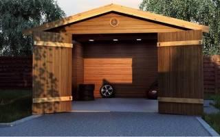 Как построить гараж из досок своими руками?