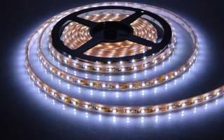 Как крепить светодиодную ленту на мебель?