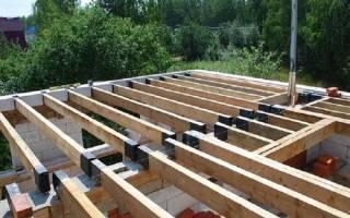 Как сделать потолок в доме из газобетона?