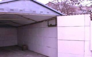 Как утеплить металлический гараж своими руками?
