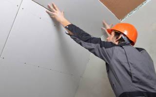 Как прикрепить гипсокартон к потолку без профилей?