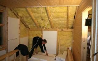 Как утеплить второй этаж деревянного дома?