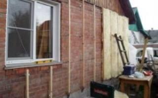 Как правильно утеплить фасад дома минеральной ватой?
