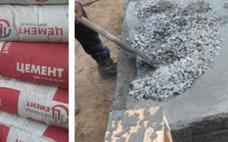 Сколько килограмм цемента в кубе бетона?