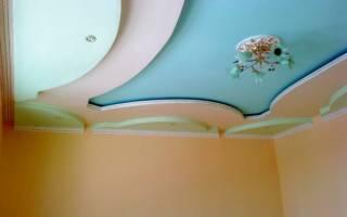 Как покрасить гипсокартонный потолок?