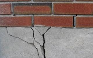 Как исправить фундамент под домом?