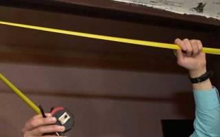 Как уменьшить дверной проем гипсокартоном?