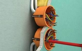 Как провести проводку в гипсокартоне?