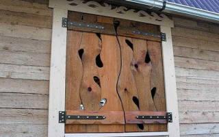Как заделать окно в деревянном доме?