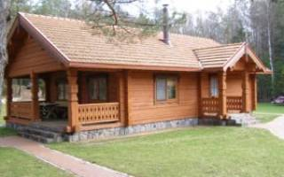 Фундамент для деревянного дома какой лучше?