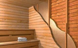 Как правильно утеплить баню внутри?
