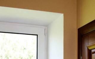 Как делать откосы на пластиковые окна?