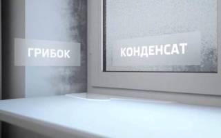 Как избежать конденсата на окнах?