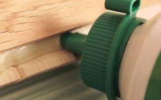 Как убрать воск с ламината?