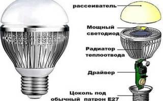 Как починить диодную лампочку?