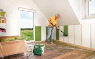 Можно ли красить фасадной краской внутри помещения?