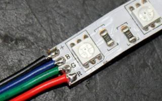 Как паять светодиодную ленту в силиконе?