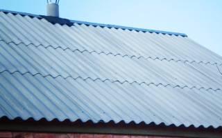 Как утеплить крышу под шифером?