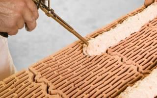 Можно ли класть кирпич на плиточный клей?