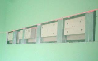 Как усилить стену из гипсокартона?