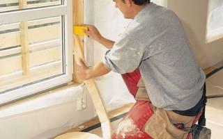 Как можно утеплить деревянные окна на зиму?