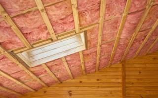 Какой плотности Утепление должен быть для потолка?