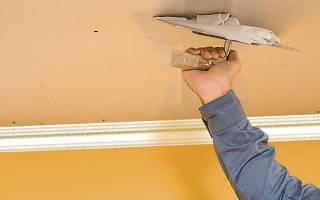 Как сделать потолок идеально ровным?