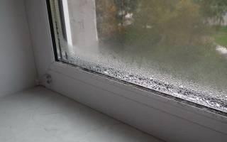Почему мокнут пластиковые окна в квартире?