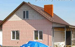 Как правильно утеплить стены дома снаружи?