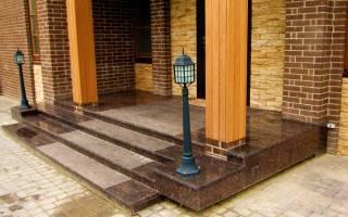 Как сделать ступени для крыльца из бетона?