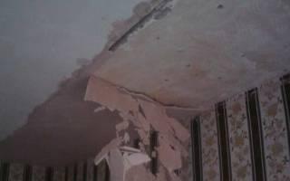 Как заштукатурить потолок своими руками?