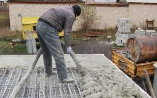 Сколько стынет бетон?
