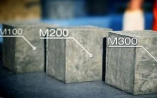 Что означает марка бетона м200?