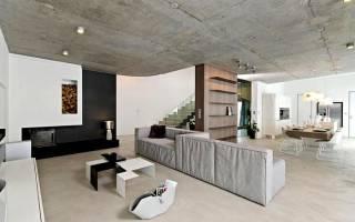 Как утеплить бетонный потолок в частном доме?