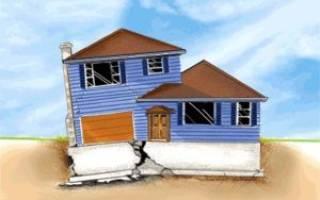Как подлить фундамент под старый дом?