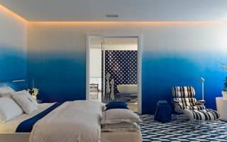 Как покрасить стены градиентом?