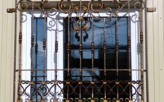 Как сварить решетку на окно своими руками?
