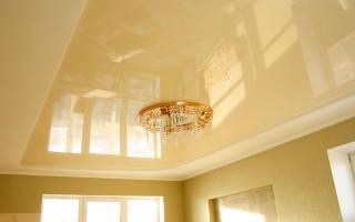 Как сделать глянцевый потолок из гипсокартона?