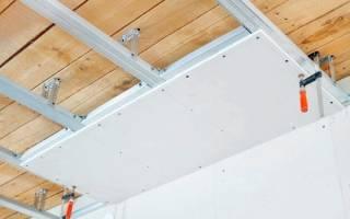 Как монтировать подвесной потолок из гипсокартона?