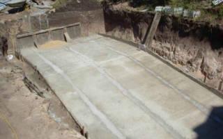 Как залить бетон под уклоном?