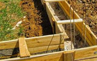 Когда лучше заливать фундамент под дом?