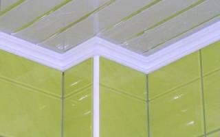 Как клеить багеты на натяжной потолок?