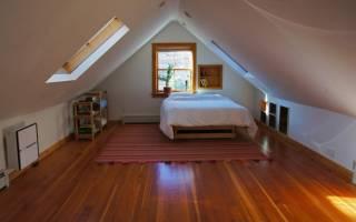 Как утеплить чердак и сделать комнату?