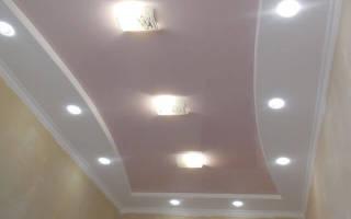 Как правильно сделать потолок из гипсокартона?