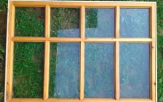 Как сделать раму для окна своими руками?