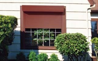 Что лучше рольставни или решетки на окна?