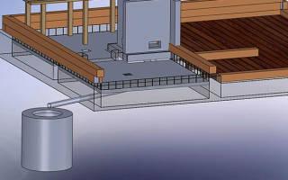 Как сделать сливную яму для бани?