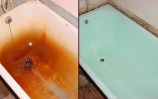 Восстановление эмали ванны в домашних условиях